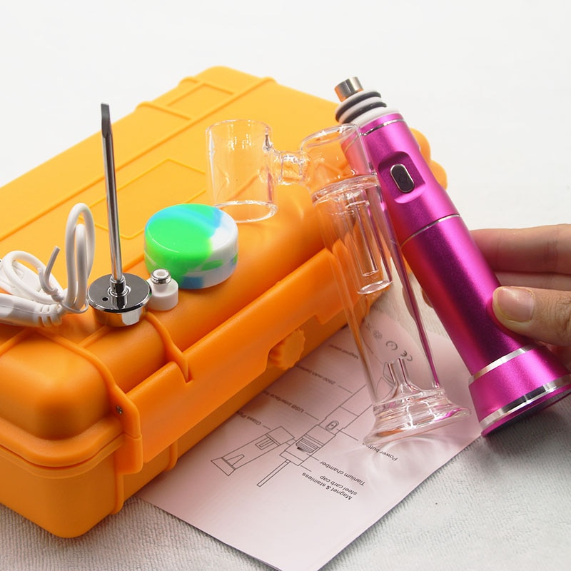High Quality Wax Vapor Portable Oil Rig Dab Vapors H enail g9 Temperature Controller For Wax Concentrate Oil enlarge
