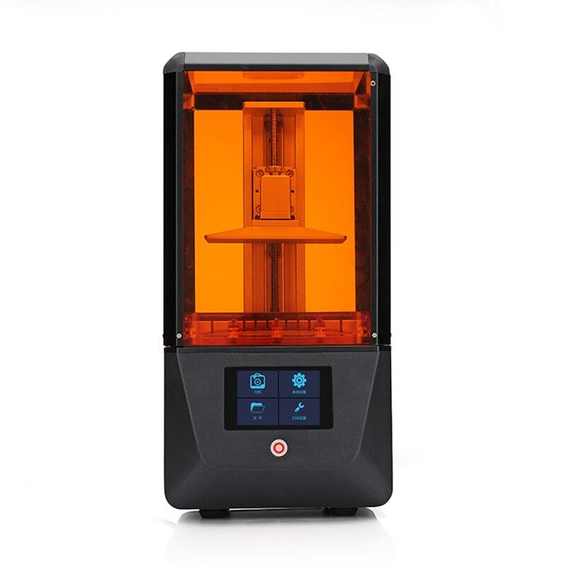 ضوء علاج SLA/LCD/DLP طابعة ثلاثية الأبعاد حجم الطباعة 130*70*150 مللي متر واي فاي و لمس للمجوهرات الصب nova3d bin 3