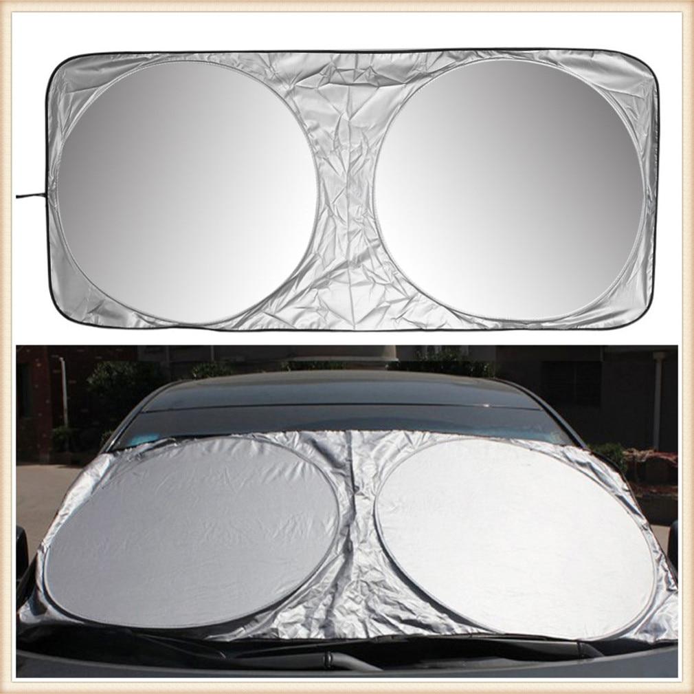 Parasol de coche de ventana, cubierta de parabrisas delantero UV para Toyota Tacoma Tercel Tiara Van Venza Yaris Hiace Prius V Hilux Land Cruis