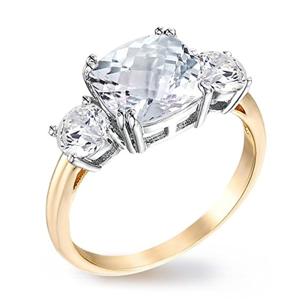 GB British Royal Family Megan Princess Engagement Ring Harry Prince Engagement Ring Adjustable Open Ring For Wedding Couple