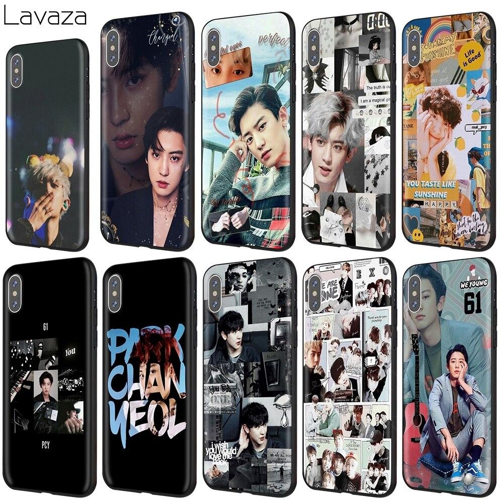 Lavaza Exo Chanyeol caso para iPhone 11 Pro XS Max XR 8X8 7 6 6S Plus 5 5S se