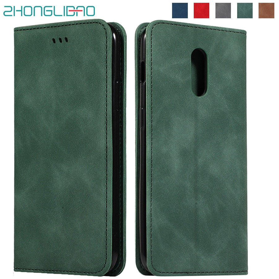 Funda para One Plus 6t 7 Pro magnética funda de teléfono plegable de piel para Oneplus 7 Pro Original tarjeta funda de soporte de cartera para Oneplus 7 6T