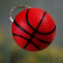 Gros 60 pcs/lot bijoux basket-ball accessoires de téléphone portable basket-ball porte-clés porte-clés anneau petit cadeau