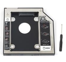 WZSM NEW 9.5mm SATA 2nd SSD HDD Caddy for Hp Probook 650 G1 645 G1 640 G1 445 450 470 470 G0 Hard Disk Drive Caddy