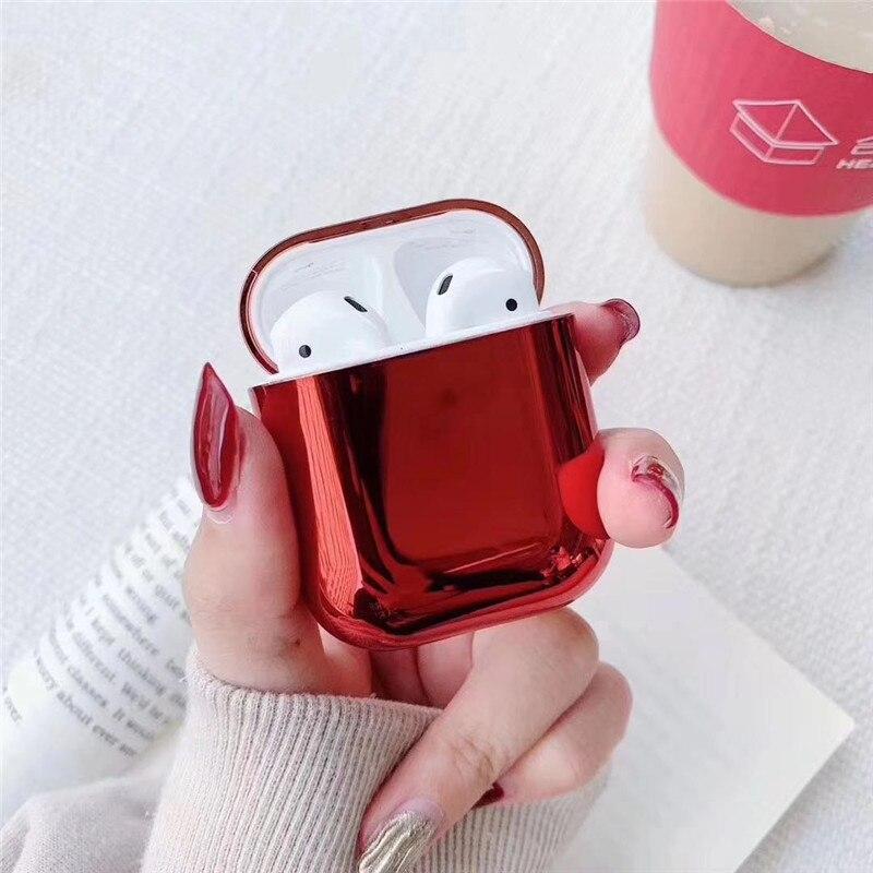 Fone de ouvido coque para apple airpods 2 caixa de carregamento capa protetora moda escudo para vagens ar pro 3 xiaomi risco prevenção caso