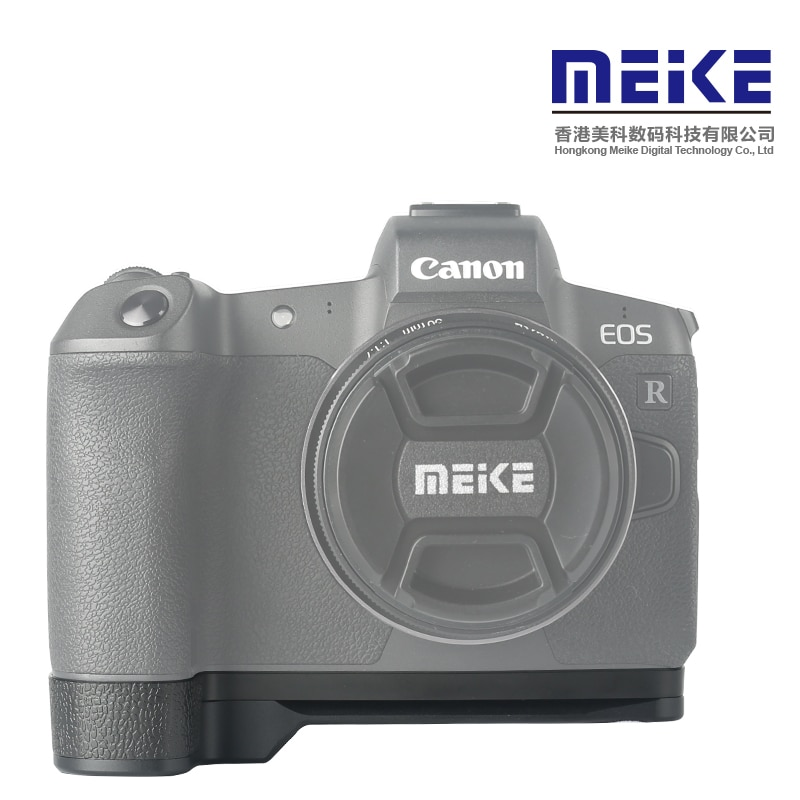 Placa de liberación rápida Meike MK-EORG con mango de aluminio para cámara Canon EOS R