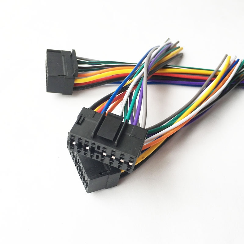 16 PIN cable mazo de cables para Radio enchufe para DIY Sony Radio macho CDX-GT210 CDX-M630 CDX-M650 CDX-M800 CDX-M670 CDX-M600R