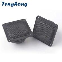 Tenghong 2 uds 3 pulgadas Tweeter altavoz 30W 72MM cerámica piezoeléctrica Tweeter cuadrado altavoz de Audio agudos Piezo altavoces de bocina