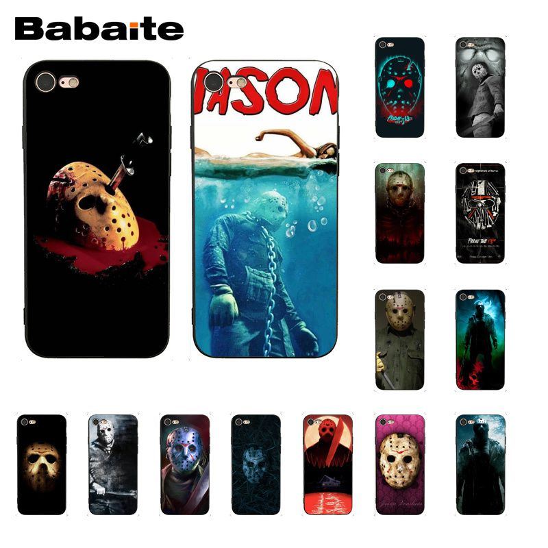 Babaite Jason Voorhees el viernes 13th funda para teléfono para iphone 11 Pro 11Pro Max 8 7 6 6S Plus X XS X MAX 5 5S SE XR