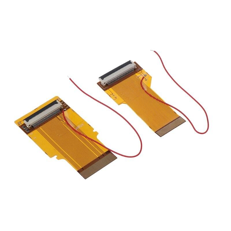 Reemplazo 32Pin 40 Pin para Gameboy Advance MOD retroiluminación LCD cinta de Cable para GBA SP Mod de pantalla retroiluminada