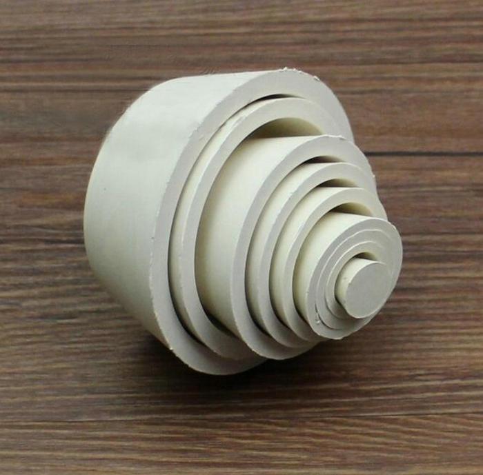 8*1 pces/conjunto de borracha buchner funil suporte, almofada de filtro de vedação plug filtro garrafa funil apoio almofada de borracha capa plug