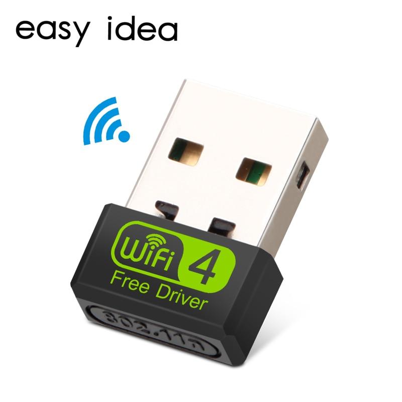 Mini USB Wifi adaptateur Wifi USB Ethernet Wi-Fi adaptateur Wi-Fi Dongle 150 Mbps USB Lan carte réseau 2.4G sans fil PC Wifi récepteur