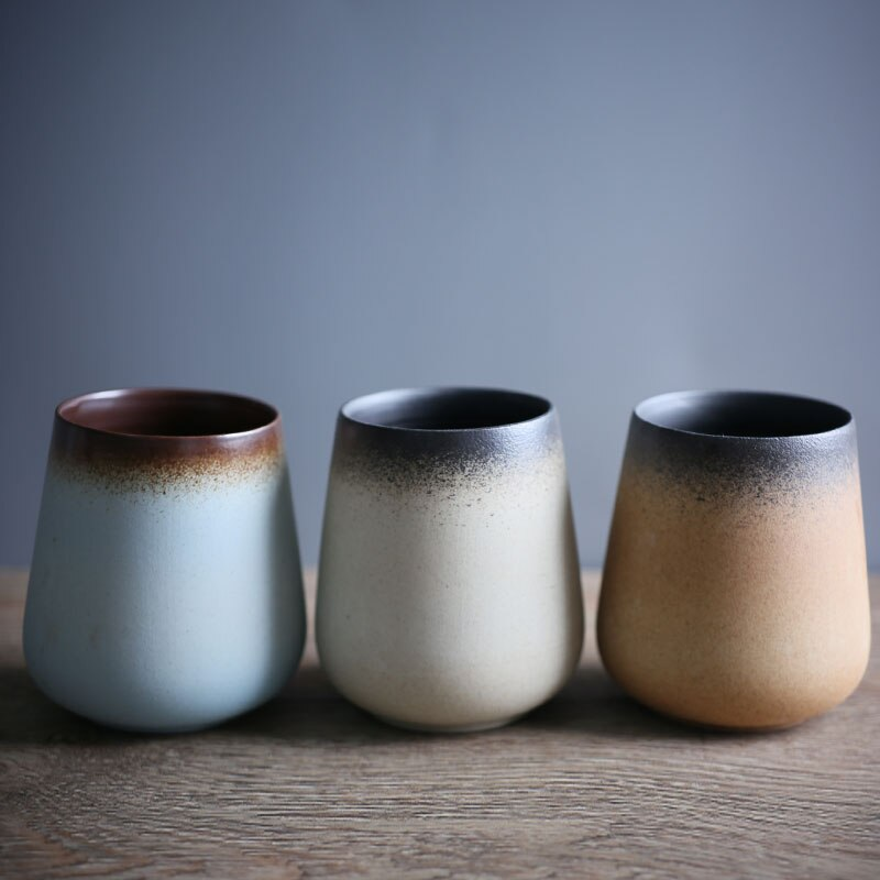 Taza con cambio de Color de alce de 280 ml, tazas de café de porcelana, tazas mágicas de té, tazas mágicas de estilo japonés, regalo para amigos