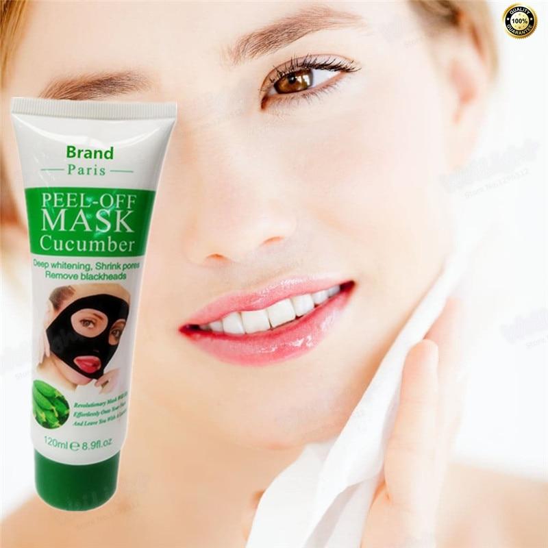 120 ML/Garrafa pacote de Pepino máscara de Colágeno Anti rugas creme para o rosto Anti envelhecimento máscara facial para o rosto cuidados com a pele de elevação Atacado firmador