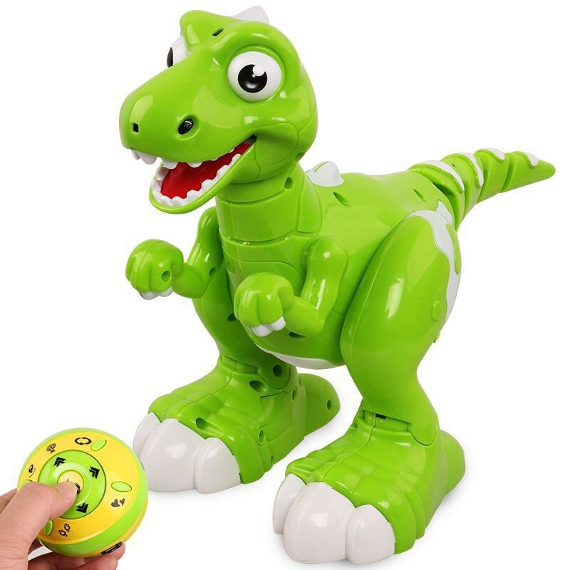 Newest Intelligent Remote Control Electric Induction Follow Interesting Dinosaur 34CM Spray Hand Induction Dinosaur Toy For Kids
