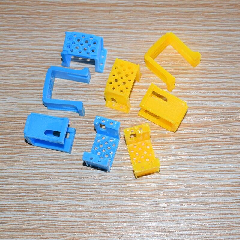 10/100pcs TT motor clip/TT getriebe halterung/diy spielzeug teile/technologie modell/bausteine/baby spielzeug für kinder/rc auto