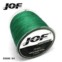 500m super strong japan multifilament pe braided fishing line 4 strands braided wires 10 12 18 28 35 40 50 60 80lb