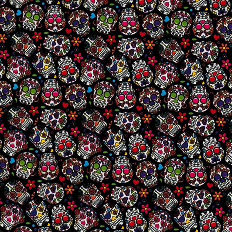 Película hidrográfica WTP 0.5mX 2m/10m CSCW1074 con patrón de flores coloridas
