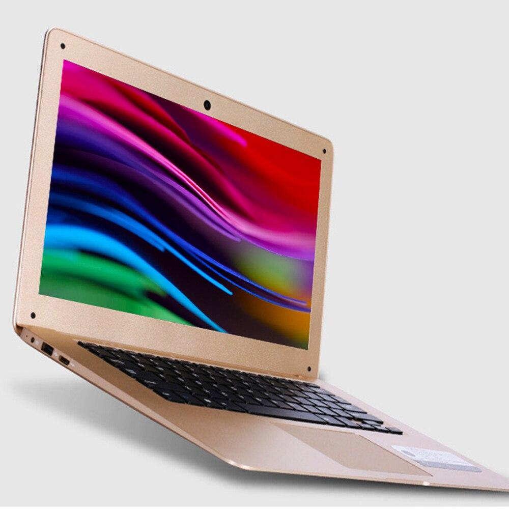 Laptop 14 Inch Windows 10 Intel Z8350 Quad Core 4GB RAM 64GB SSD ROM Notebook 1920x1080 FHD Display Ultrabook with Full Keyboard