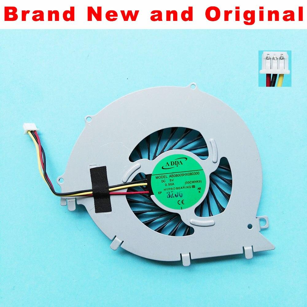 Новый и оригинальный вентилятор для процессора SONY VAIO SVF152 SVF15E svf152a29m, охлаждающий вентилятор для ноутбука, кулер AB08005HX080300 00CWHK9 UDQF2ZR76CQU