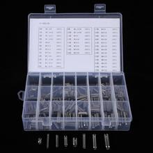 Jeu de broches de Tension cylindriques en acier inoxydable 280 pièces, m1,5 M2 M2.5 M3 M4 M5 M6 M8
