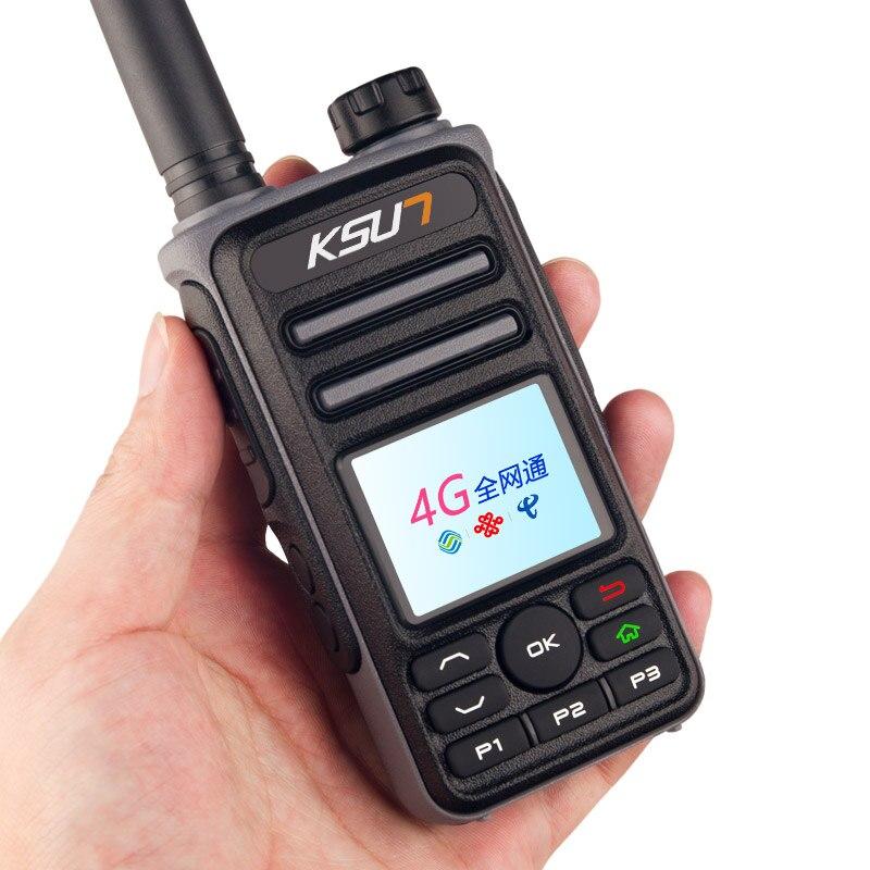 GPS 위치 지정 민간 듀얼 모드 네트워크 KSX50-M-G 디지털 WCDMA,CDMA,GSM 자동차 라디오 양방향 라디오 워키 토키