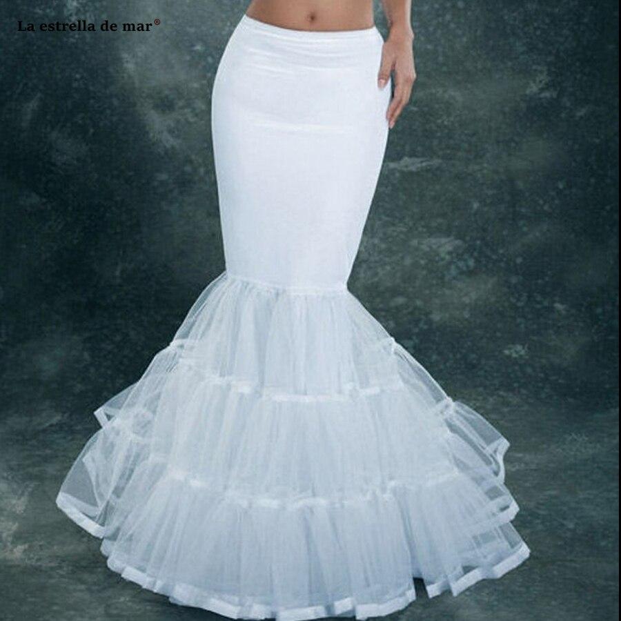 La estrella de mar-vestido de boda largo de tul, enaguas de sirena,...