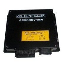 Robex 220LC-3 contrôleur ECU 21EM-30111   Panneau de commande pour boîte de CPU pour pelle Hyundai, garantie de 1 an
