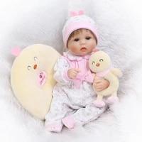 npk soft silicone vinyl reborn baby doll toys lifelike lovely new born babies girl dolls fashion birthday gifts for children