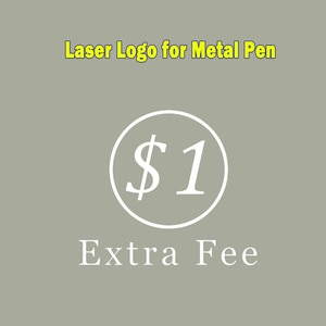 Extra Fee for Shipping cost/ Customization/ Special Require, Laser Logo for Metal Pen