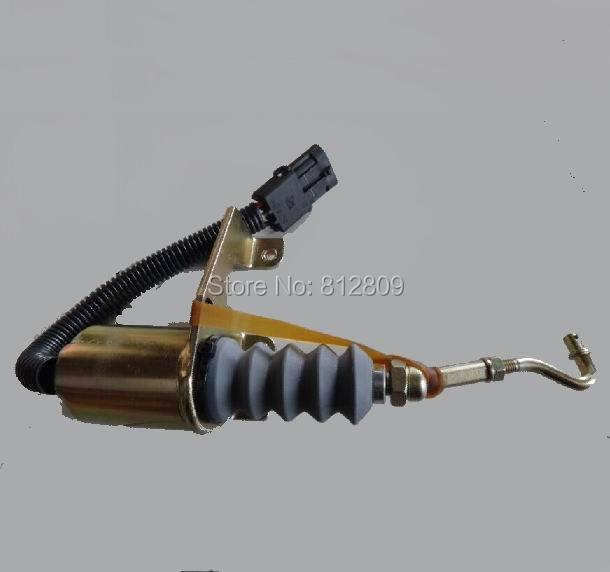 Shutdown solenoid kits for  RSV governor & 24 V 3974947, Z3900107 SA-3742-24, 1751ES for  left-hand mounting
