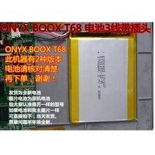 Batterie pour ONYX Boox T76ML T76SML C65ML C63ML C65HD T68 E-Book nouveau li-po accumulateur Rechargeable Pack remplacement 3.7V piste