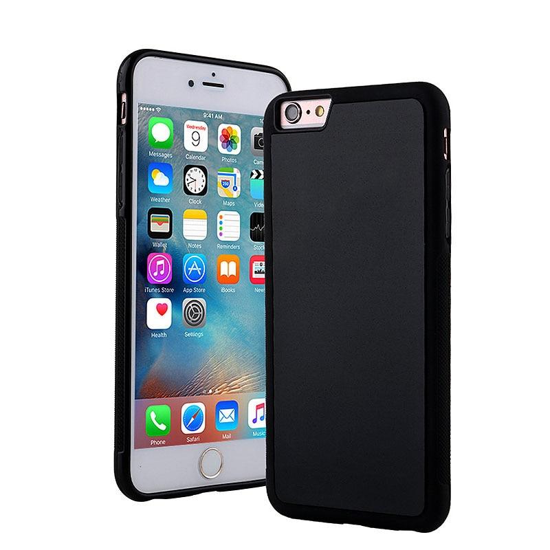 Чехол для телефона с защитой от гравитации для iPhone X 8 7 6S Plus, антигравитационный чехол из ТПУ с волшебной нано-присоской, чехол для автомобиля