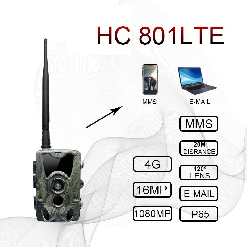 HC300M HC550M HC700G HC801LTE 4G cámara de caza 12MP 940nm visión nocturna MMS GPRS trampas de fotos cámara de rastro Hunter Cam dropship