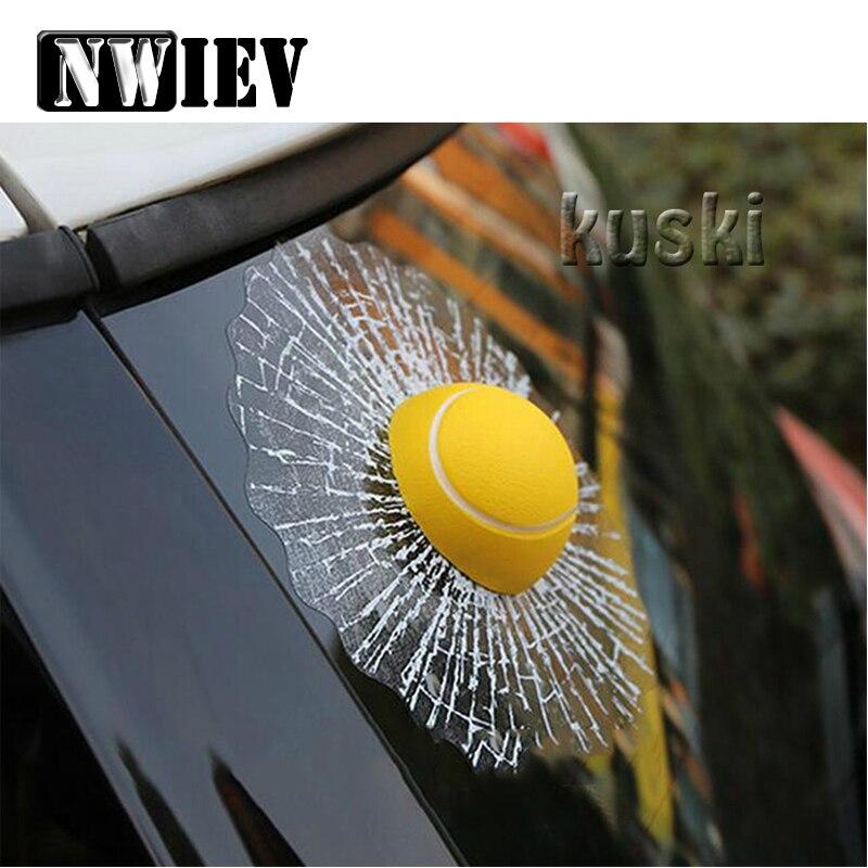 Etiqueta engomada de la ventana del coche de NWIEV para Abarth Fiat 500 BMW E60 E36 E34 Mercedes Benz W204 Volvo XC90 V70