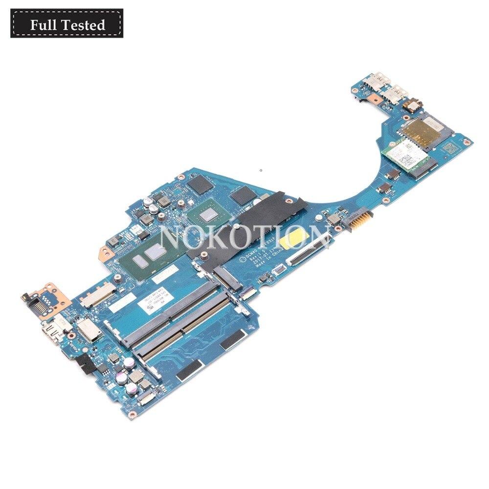NOKOTION DCM40 LA-F031P 930577-601, 930577-001 Tablero Principal para Laptop HP 14-BF 14-bf058TX portátil placa base 940MX 2GB i5-7200U