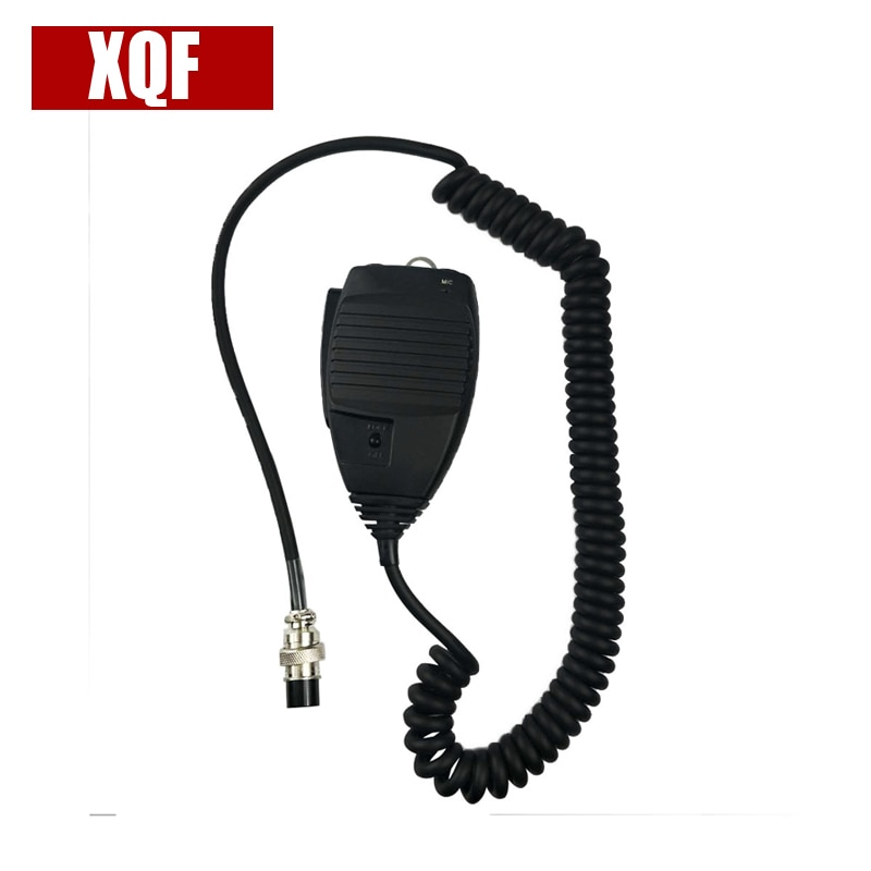 XQF Mic micrófono para Alinco DR-03-DR 06 DR-135 DR-235 DR-435 DR-635 radio EMS-53