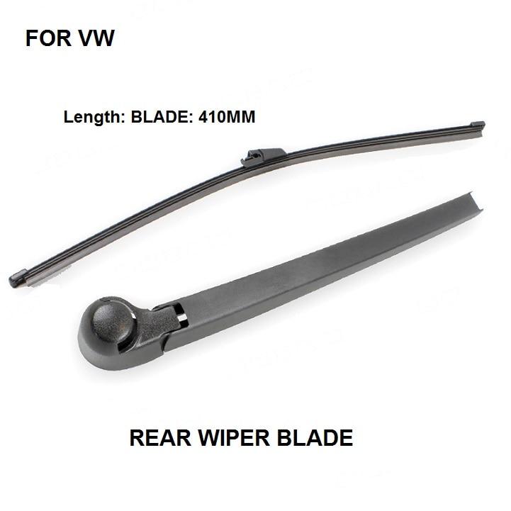 (2004-2014) para a volkswagen caddy wiper braço traseiro com lâmina conjunto completo vw oe 7h0955707a