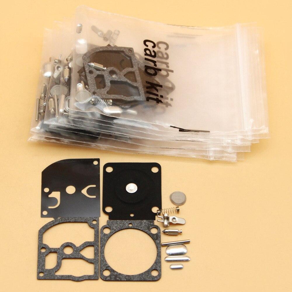 10Kit/lot Carburetor Repair Kit For STIHL FS38 FS55 FS120 FS200 FS250 FS300 FS350 Trimmer SH55 SH85 BG45 BG46 BG65 BG85 Blower