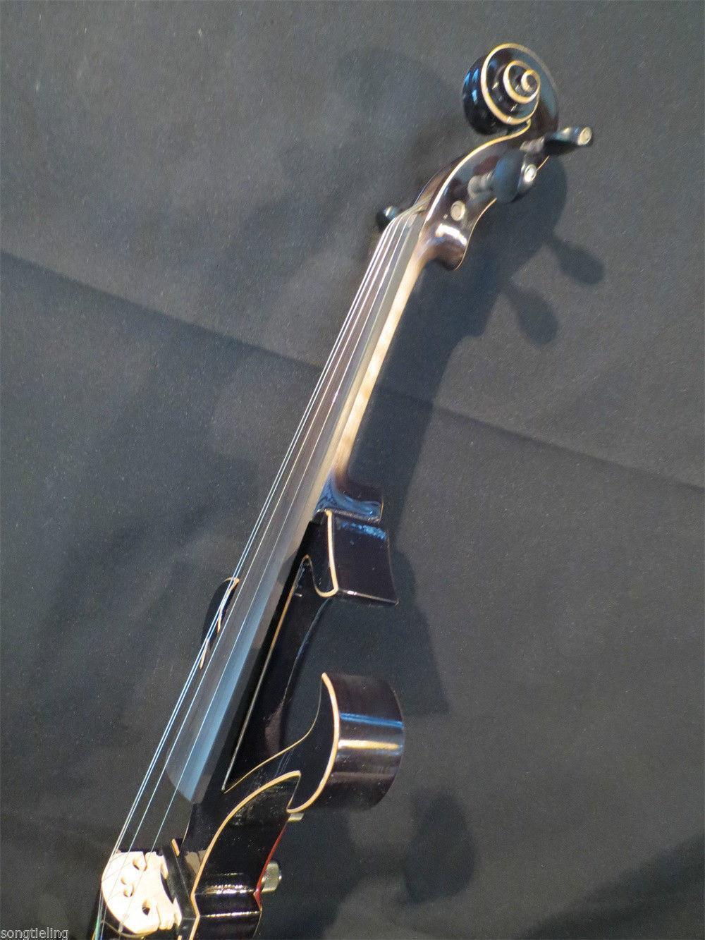 Best SONG Brand Top art Crazy-2 black color 4/4 electric violin enlarge