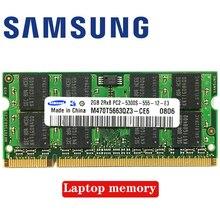 Ordinateur portable 2GB 2G 2RX8 5300S 6400S 5300 6400 DDR2 667 800 MHZ 667MHZ 800 MHZ Module ECC mémoire RAM