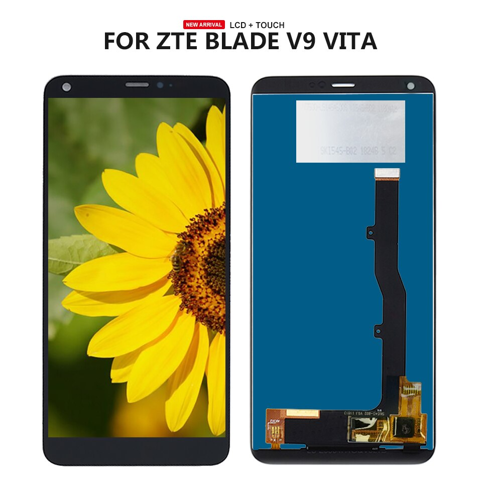 Para ZTE Blade V9 Vita, pantalla LCD + montaje de cristal Digitalizador de pantalla táctil + herramientas