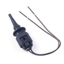 CITALL Buitenste Luchttemperatuur Sensor & Plug 0075421318 Voor Mercedes Benz CLK CLS GLK Smart Sprinter Vaneo VW Crafter