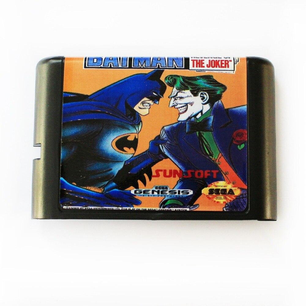 Batman Revenge Of the Joker (Batman 3) 16 bit MD Game Card Für Sega Mega Drive Für SEGA Genesis