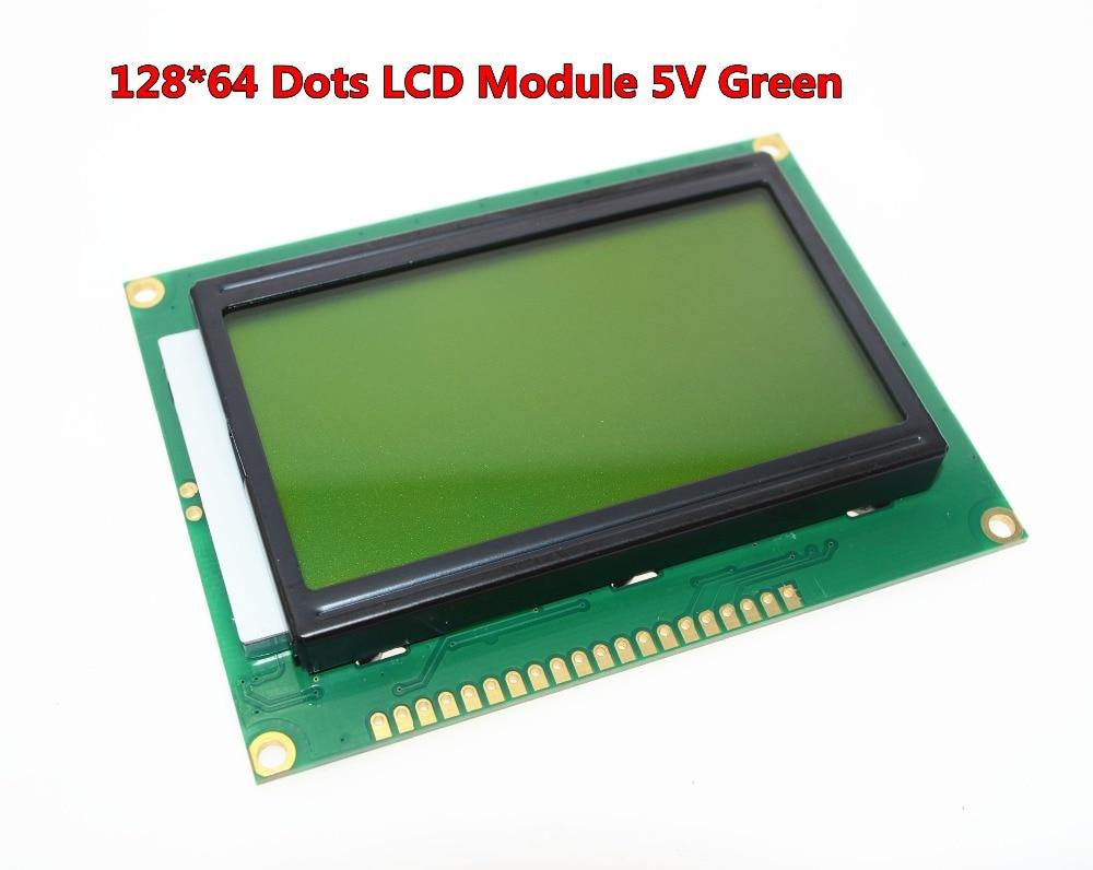 SUQ 12864 128x64 точки Графический Зеленый цв