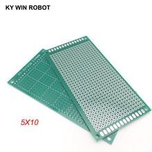 1pcs 5x10cm 50x100 mm Single Side Prototype PCB Universal Printed Circuit Board Protoboard For Arduino