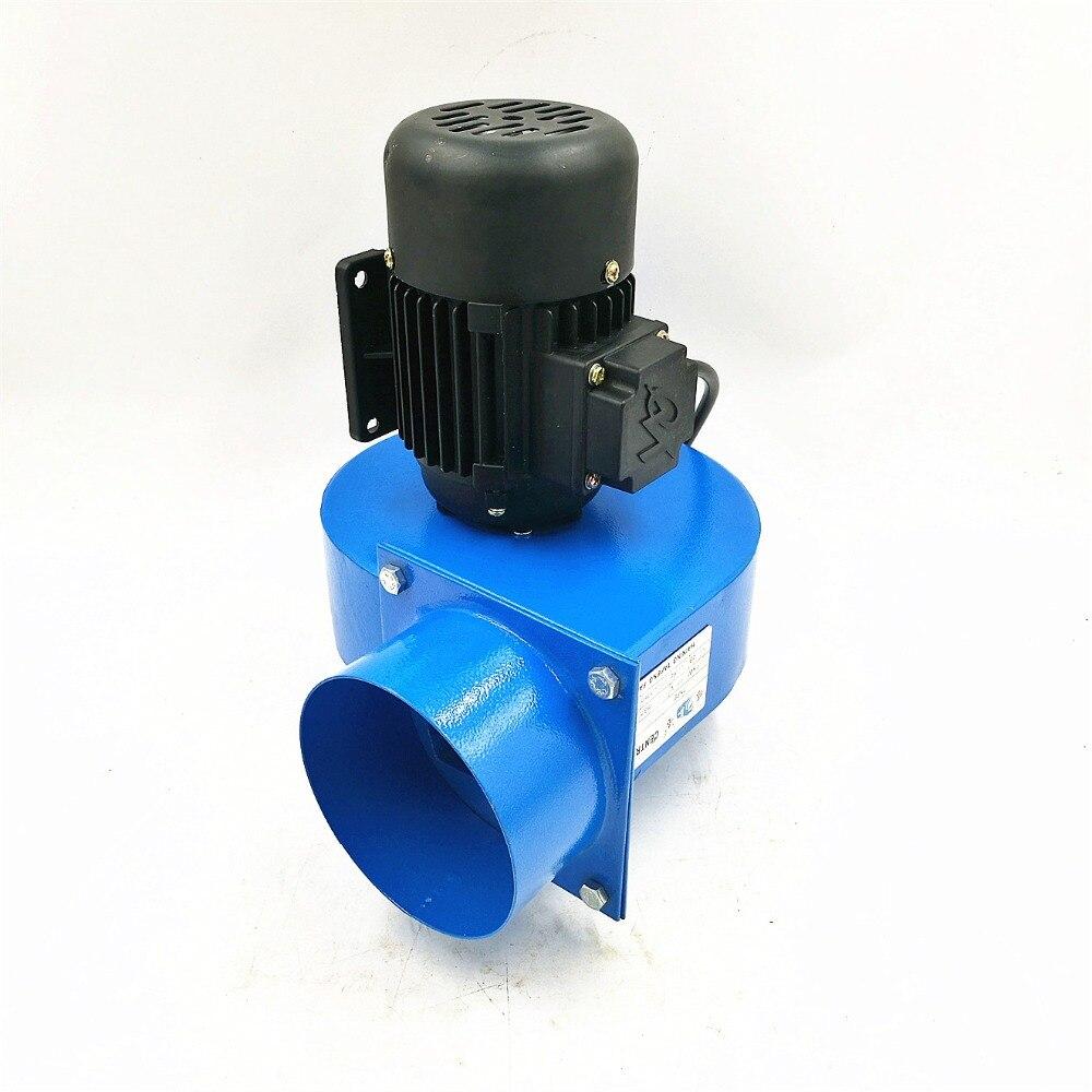 Soplador de alta temperatura, 120w, tubo pequeño de 10cm, extractor de Gas y humo caliente, ventilador centrífugo pequeño de 220V, 600 m3