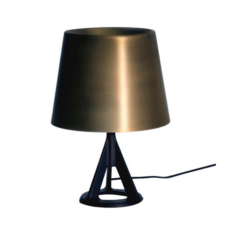 Led Desk Lamp Lustre Modern Table Lamp Reading Study Light Bedroom Bedside Lights PVC Gold Lampshade Home Lighting Design Lamps