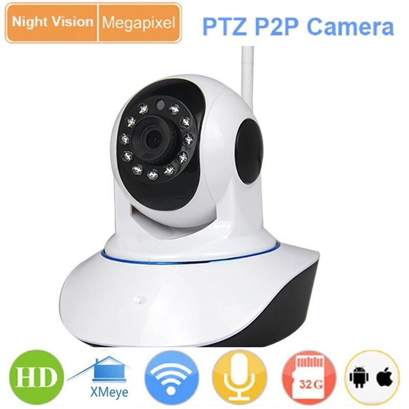 CCTV 2.0MP P2P 1080P Wireless WiFi Pan Tilt IP ONVIF red cámaras tarjeta mini SD de Monitor de bebé Webcam IPC Cámara vmeyesuper de AP