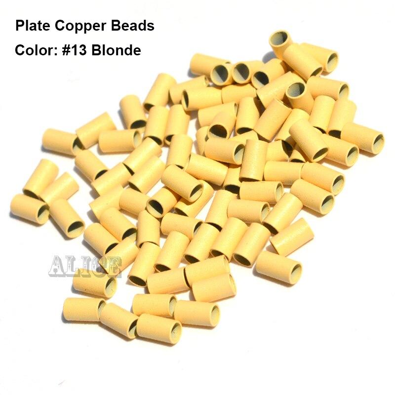 Anillos Micro de cobre de borde de placa 3,4*3,0*6,0mm tubos de extensión de cabello 1000 unids/lote anillos de cuentas de Dreadlock